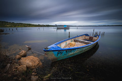 Barque  Bages @Aude (Benjamin MOUROT) Tags: benjaminmourot canon70d 1018mm photoshopcs3 lightroom5 nature landscape paysage view pov retardateur france francia faguo french poselongue longexposure lente filtre nd1000 nd110 bages aude languedocroussillon gruissan peyriacdemer narbonne light clouds sky nisi leefilter bigstopper