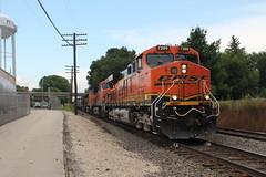 BNSF 7209 (CC 8039) Tags: bsnf csx trains es44ac ac44cw c449w rochelle illinois