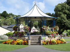 Best Bandstand???? (jlc pics) Tags: bandstand ilfracombe devon nikon d7000 flowers