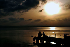 Albufera (Oihane Prez) Tags: albufera valencia atardecer sunset laguna lagoon nikon