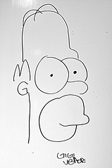 Homer (STEVE BEST ONE) Tags: caricatura caricature disegno drawing homer simpson nikon d90 2013