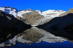 Gauligletscher (benno.dierauer) Tags: refelections switzerland berneroberland gauligletscher mirror mountain berge gletscher