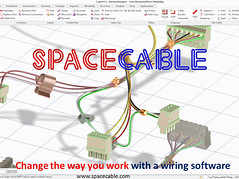 SpaceCable - Change the way you work with your Cabling software (mipcad) Tags: cabling cablingextension cable eplan creoelementsdirect ptc e3