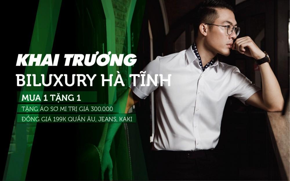 Khai trương Biluxury Hà Tĩnh