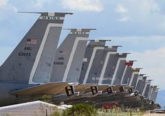 United States Air Force                                        Boeing KC135's in storage (Flame1958) Tags: unitedstatesairforce usaf boeingkc135 kc135 boeing707 707 135 usafkc135 c135 boeing b707 militarytransport davismonthan dm dmafb desertstorage boneyard 010916 0916 2016 davismonthanafb 7244