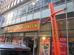 Inflatable Tube Man Spirit Halloween 2016 Store NYC 5806 (Brechtbug) Tags: orange wacky waving inflatable arm flailing tube man sky dancer spirit halloween 2016 store 48th street near 6th ave nyc costume mask stores upper west side manhattan new york city ben cooper halco collegeville logos costumes masks holidays holiday warning villain 60 60s 1960s animated cartoon animation cartoons vintage 50s 70s 80s st 09252016 september poster ad advertisement ads