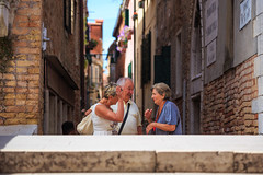 "parlando - talking (""Strlic Furln"" - Davide Gabino) Tags: talk talking people venice street photography streetphotography venezia parlando parlare explore"