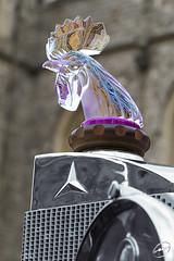 Mercedes Benz 630 Sauotchik Stadt Coupe_IMG_1595 (Mark A Lacey) Tags: mercedesbenz 630 sauotchik stadtcoupewindsorcastleconcours 2016lalique cockerel mascot