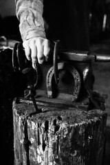 125754_18032014_MG_3350 (kamandre) Tags: blackandwhite blacksmith bw canon100d canonef2470mmf28lusm canonef2470mmf28l canoneos100d eosrebelsl1 eoskissx7 handsomeman house kamandre moscow museum museumworker portrait rawphotoprocessor rpp russia russian shadow smoke