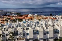 adeje coast (grahamd4) Tags: slt sony a33 houses white sea sly canary islands tenerife adeje