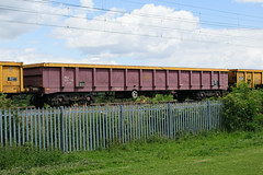 503513 Kingsthorpe 030716 (Dan86401) Tags: 503513 503 mla bogie open ballastbox wagon freight greenbrier ews db dbcargo redsnapper fishkind engineers departmental infrastructure wilsonscrossing kingsthorpe northampton wcml 6r02