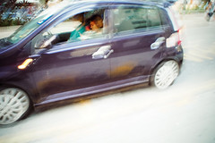 (yangkuo) Tags: shift driving car passing walking snapshot olympus 15mm f8 cap lens blur zoom movement double