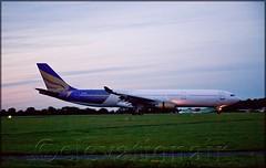 AP-BKM Airbus A330-301 (Shaheen Air) (elevationair ) Tags: dublinairport dub eidw airliners airbus a330 a333 airbusa330301 apbkm shaheenair eicrk dusk sundown arrival landed runway airlines aviation avgeek