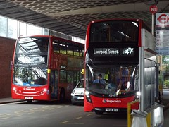 Reflecting on a new contract (GloriousWater) Tags: lx61dbv yx66wcu alexander dennis e40d enviro400 mmc