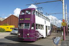 Balloon 700 Hopton Road (Blackpool trams dalrigh) Tags: blackpooltrams balloon 700 heritagetrams