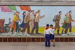 Puhng Station (Kaobanga) Tags: coreadelnord coreadelnorte northkorea corea repblicapopulardemocrticadecorea rpdc repblicapopulardemocrticadecorea democraticpeoplesrepublicofkorea dprk  chosnminjujuiinminkonghwaguk pyongyang pionyang pingyang pyeongyang  metro subway puhungstation puhngstation puhung  estacidereactivaci estacindereactivacin stationrehabilitation rehabilitacin rehabilitation renaixement renacimiento renaissance revival mangyongdaeline mangyongdae mural mosaic mosaico canon5dmarkii canon5dmkii canon5dmk2 canon1635 1635 kaobanga