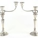 2025. Pair of Gorham Sterling Silver Candelabra