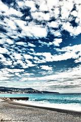 Ciel méditerrané (David-Martinelli-Photos.net) Tags: mer vague jetée digue méditerranée promenadedesanglais paysagesmarins