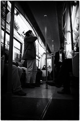 Challenge 1: Are we there Yet? (Cheryl Meek ARPS) Tags: london feet legs low tube passengers posts dvj