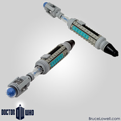 Sonic Screwdriver (bruceywan) Tags: david lego time who 10 dr sonic lord doctor photostream screwdriver tennant moc tenth ironbuilder brucelowellcom ironbuilder2 ibbl2
