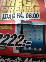nnu en leksaksaffr att beska... (Patrick Strandberg) Tags: sweden mediamarkt reklam iphone stergtland vikingstad iphone5 linkoping