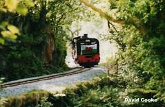 P6886 WHR Train @ Plas-y-Nant 18.8.03 (davidncooke_686) Tags: train railway steam highland locomotive welsh ng gauge narrow
