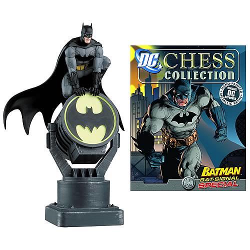 『蝙蝠俠收藏西洋棋』將推出特別號「蝙蝠俠與蝙蝠探照燈」