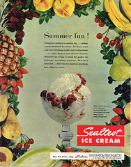 1950 Sealtest Ice Cream (1950sUnlimited) Tags: food design desserts icecream 1950s packaging snacks 1960s dairy midcentury snackfood sealtest