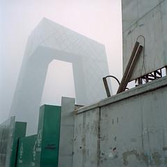 (claus peder) Tags: rolleiflex kodak beijing cctv remkoolhaas oma portra e2 xenotar