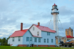 Whitefish Point Lighthouse-4392 (JanalynR) Tags: light lighthouse museum lighthouses michigan torch upperpeninsula beacon lakesuperior whitefishpoint lightinthenight llmsmiwhitefishpoint