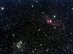 NGC7635/M52 (The Bubble Nebula) (CSky65) Tags: clusters messier deepspace nebulae astrometrydotnet:status=solved openclusters astrometrydotnet:version=14400 astrometrydotnet:id=alpha20121190533420