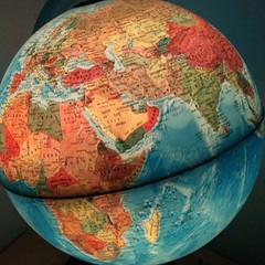 My globe by Martin Pettitt, on Flickr