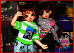 Hey what do you guys want for Christmas??? (serenity jenny) Tags: ball doll dolls little chloe bjd pong fairyland joint fee jointed pongpong littlefee