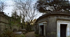 Highgate Cemetery (West side) (njkobie) Tags: london pano panoramic highgate panos panoramics highgatecemetery