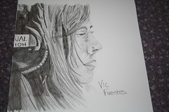 My drawing of Vic Fuentes from Pierce The Veil (alice192823) Tags: pencil sketch drawing piercetheveil vicfuentes