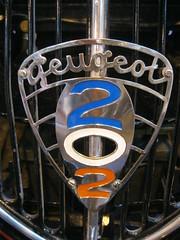 Peugeot 202 (andreboeni) Tags: auto classic cars car french voiture retro oldtimer autos grille radiator peugeot 202 voitures francais classique