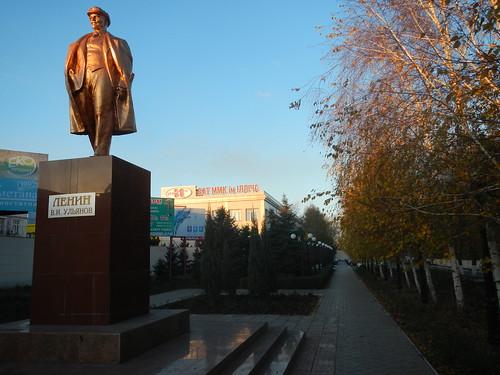 Lenin in Levitan street