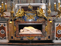 Santa Cecilia (arosadocel) Tags: santa roma arte escultura cecilia cristiano