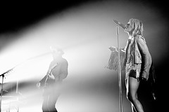 Metric at the Air Canada Centre (Ryan Kelpin (ryan@ryankelpin.com)) Tags: november toronto canada stars acc montreal josh metric indie shaw emilyhaines 2012 artsandcrafts fantasies aircanadacentre synthetica liveitout