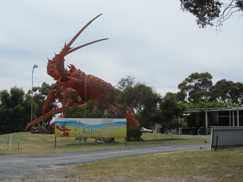 Big Lobster at Kingston SE, South Australia