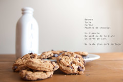 Biscuits (Maryse C-N) Tags: cookies milk sunday amour lait biscuits dimanche amiti