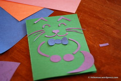 DSC_0072 (littlemiao) Tags: birthday kitty doodle card