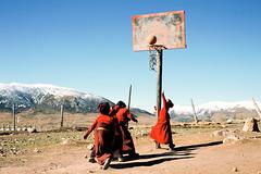Untitled (richardhwc) Tags: china film nikon monks fujifilm fm10 fujichrome provia100f tibetanplateau qinghai rdpiii ai50mmf20