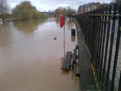 Quay Wall, Gloucester (Environment Agency) Tags: flooding flood quay gloucester floods