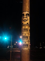Fun in Lahina (DontHateTheBear H8K) Tags: sf bear street white black art face up night portland island skull graffiti hawaii bay sticker artist tag bears stickers vinyl obey pole ups crew round hate area pdx hi slap graff lahina krew slaps islanda 808 h8k dhestoe dhestoer