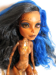 Robecca (nonaptime) Tags: monster robot high doll ooak steam frankie captain penny custom stein recolor repaint robecca threaderella