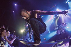 August Burns Red - Paris, Le Bataclan - 19/11/2012 (Apo [Photographe Alternativ News]) Tags: show music paris rock metal concert live metalcore alternatif musique bataclan
