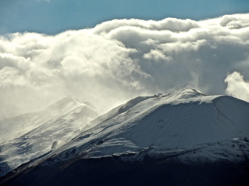 Cime Tempestose... (rospex) parco neve montagna cima nazionale sibillini