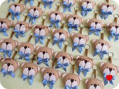 {{ Lucas }} (carambola arte em feltro) Tags: lembrana urso nascimento maternidade chaveiro chaveirodefeltro lembranadenascimento ursoemfeltro laoperfeito