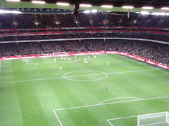 Arsenal 0 Swansea 2 Everyone up (Robinho67) Tags: swansea football emirates arsenal premierleague clockend flickrandroidapp:filter=none